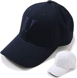 unitement(ユナイトメント) ゴルフ 6Pack Basic Cap キャップ 帽子 メンズ レディース Black/フリーサイズ