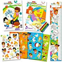 Fisher Price Coloring Book Set for Toddlers – -カラーリングBook ,アクティビティパッド、over 100ステッカー、クレヨンと成長チャート( Fisher Price Books )