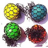Rhode Island Novelty Squeeze 2 Balls, 12-Pack (assorted colors) by Rhode Island Novelty