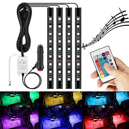 AMBOTHER 車 ledテープ RGB 全16色に切替 ...