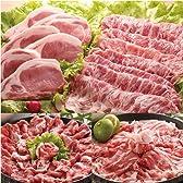 瀬戸のもち豚 せと姫 たっぷりセット!(しゃぶしゃぶ肉1kg、ステーキ肉5枚)