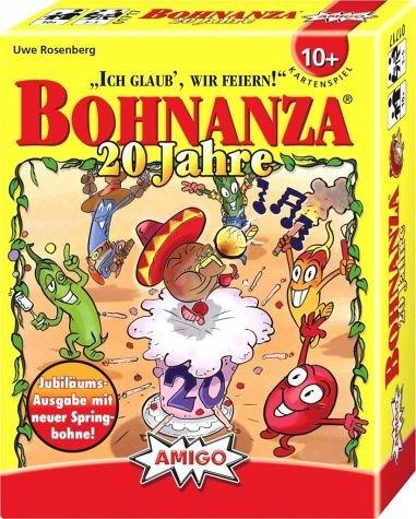 ボーナンザ 20周年記念版 (Bohnanza: 20 Jahre) Jubiläumsausgabe mit neuer Springbohne カードゲーム