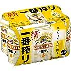 【2017年リニューアル】 新・キリン 一番搾り 生ビール 6缶パック 350ml×6本