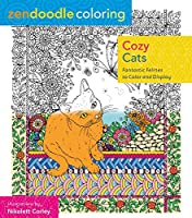 Cozy Cats: Fantastic Felines to Color and Display (Zendoodle Coloring)