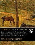 Briefe Herders an C. A. Boettiger. Aus Boettigers, auf der Dresdner Bibliothek Befindlichem, Nachlass, pp. 79-112