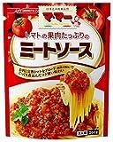 ママー トマトの果肉たっぷりのミートソース