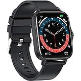 スマートウォッチ 2021最新版 1.7インチ 大画面 Bluetooth通話 着信通知 腕時計 活動量計 多種類運動モード 音楽再生 ストップウォッチ INS/Twitter/Line/メッセージ通知 IP67防塵防水 長い待機時間 日本語アプリ