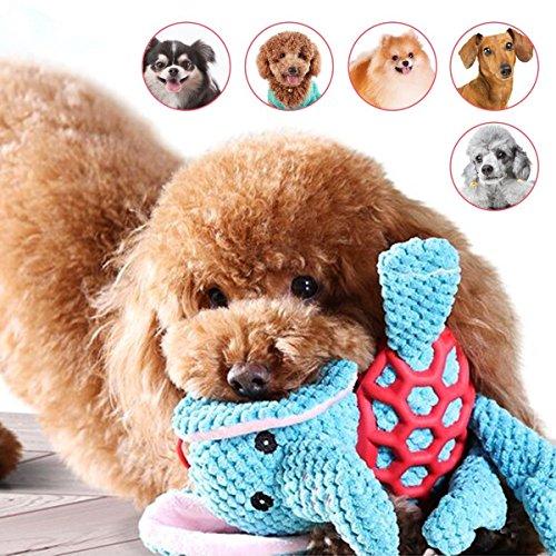 「All4pets」中小型犬用おもちゃ 犬噛むおもちゃ 丈夫なぬいぐるみ 歯磨き清潔 音の出るペットおもちゃ 運動不足/寂しさ/ストレス解消 発声装置搭載象ちゃん