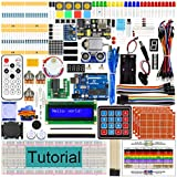 Freenove Ultimate Starter Kit with UNO R3 Board (Compatible with Arduino IDE), 260 Pages Detailed Tutorial, 217 Items, 51 Projects, Solderless Breadboard