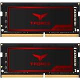 TEAMGROUP T-Force Vulcan SO-DIMM 32GB Kit (2 x 16GB) 2666MHz (PC4-21300) CL18 Laptop Gaming PC Memory Module Ram Upgrade 260-