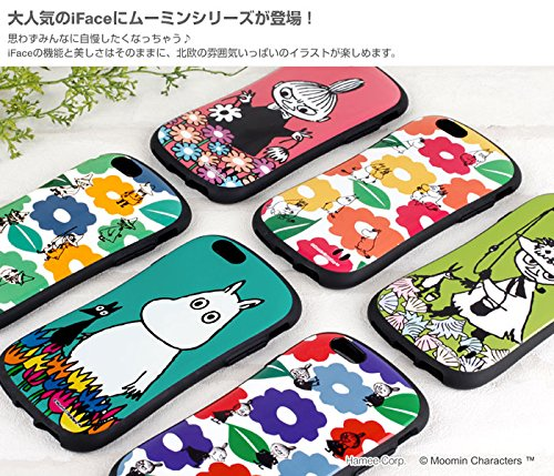 iPhone7 ケース カバー iface First Class ムーミン ストラップホール 正規品 / ムーミン / フローレン / パターン