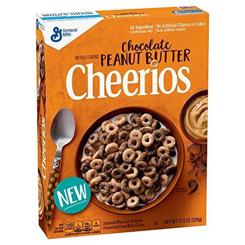 General Mills Cheerios Chocolate Peanut Butter ゼネラルミルズチョコレートピーナッツバタシリアル 320g [並行輸入品]