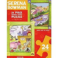 """Noah's Ark & """"Moses and the Reeds"""" Double Sided Puzzle by Artist Serena Bowman by Painted Planet Licensing Group [並行輸入品]"""