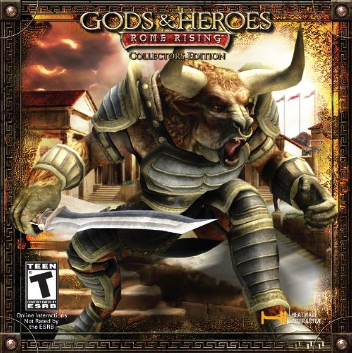 バンド従事した重要なGods and Heroes: Rome Rising Collector's Edition (輸入版)