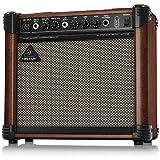 べリンガー アコースティックギターアンプ 15ワット 2ch ULTRACOUSTIC AT108