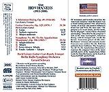 Hovhaness: Symphony No.60, Guitar Concerto 画像