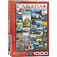 ジグソーパズル 1000ピース ユーログラフィックス トラベルカナダ ビンテージポスター 6000-0778