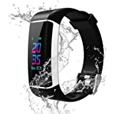 YOUNGDO GPS Fitness Tracker, Color Screen Activity Tracker Watch with Heart Rate Monitor, Built-in GPS,with 24 Sport Modes, I