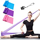 Resistance Bands Set, 3 Pack Professional Latex Elastic Bands for Home or Gym Upper & Lower Body Exercise, Physical Therapy,