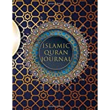 Islamic Quran Journal: Muslim's Notebook for Men and Women - Large Lined Pages for Arabic Writing, Doodling, Coloring. All th