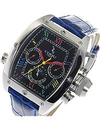 コグ 自動巻き メンズ 替えベルト付き 腕時計 C62-BCLBL ブラックマルチ/ブルー [並行輸入品]