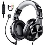 OneOdio Office/Gaming Headphones with Removable Boom Mic