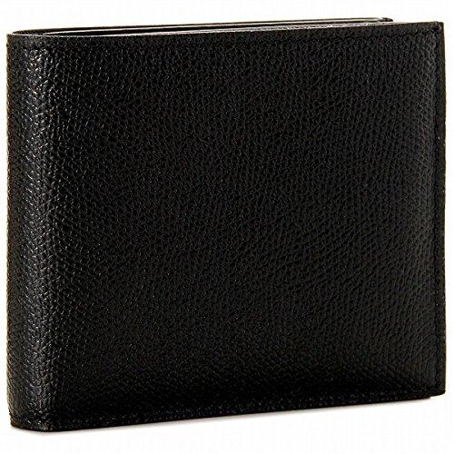 Valextra(ヴァレクストラ) 財布 メンズ グレインレザー 2つ折り財布 ブラック V8L23-028-000NRD[並行輸入品] [ウェア&シューズ]
