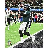 Nick Foles Philadelphia EaglesタッチダウンキャッチSuper Bowl LII 8 x 10フォト