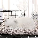zhibao リアルな犬のぬいぐるみ活性炭の車の車の空気清浄装飾かわいい睡眠(犬-8)
