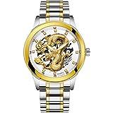 腕時計 メンズ ビジネス Jikial 腕時計 メンズ 安い おしゃれ デジタル 電波 スケルトン ソーラー 男性用時計…