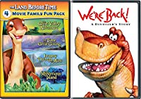 We're Back + The Land Before Time II-V 5-Movie Family Fun Pack (The Great Valley Adventure / The Time of the Great