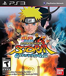 Naruto Shippuden Ultimate Storm Generations (輸入版) - PS3