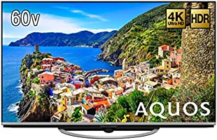 シャープ 60V型 4K対応液晶テレビ AQUOS LC-60US45 HDR対応 低反射「N-Blackパネル」搭載