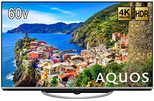 シャープ 60V型 液晶 テレビ AQUOS LC-60US45 4K HDR対応 低反射「N-Blackパネル」搭載  2017年モデル