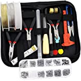 F Fityle Jewelry Making Supplies Wire Wrapping Kit with Jewelry Beading Tools, Jewelry
