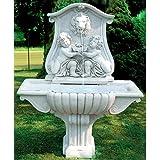 イタリア製 壁泉 ライオンと子供NIZZA [並行輸入品]