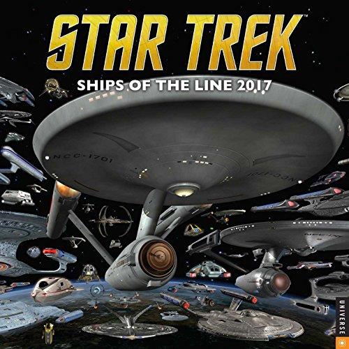 Star Trek 2017 Wall Calendar: Ships of the Line