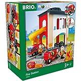 BRIO Fire Station TOYS, 8 Pieces