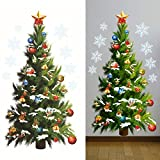 B-PING クリスマスシール 壁紙シール ウォールステッカー クリスマス飾り おしゃれ 飾り付け インテリア パーティー イベント デパート ショーウインドウ 店舗 クリスマスツリー