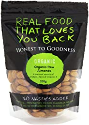 Honest to Goodness Organic Almonds Raw, 200 g