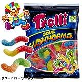 Trolli トローリ サワーグローワームス グミ 100g×4袋