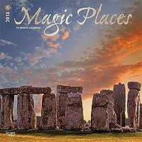 Magic Places 2018 Wall Calendar [並行輸入品]