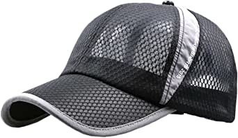 ONE LIMITATION(ワン リミテーション) エアーメッシュ キャップ フリーサイズ UVカット 帽子 メンズ レディース CP004 (01 ブラック)