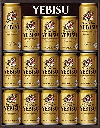 サッポロ ヱビスビール缶 ギフトセット YE4D [ 370mlx15本 ] [ギフトBox入り]