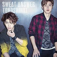 Sweat♪東方神起のCDジャケット