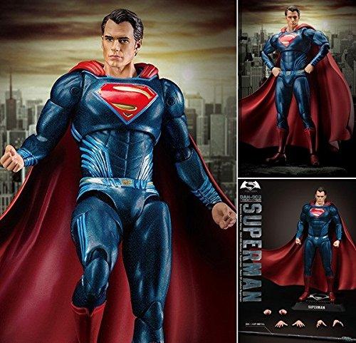 ダイナミック・アクション・ヒーローズ #003『バットマン vs スーパーマン ジャスティスの誕生』1/9 スーパーマン