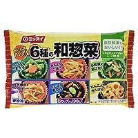 [冷凍] ニッスイ 6種の和惣菜 90g