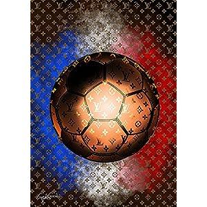 Craig Garcia アート ポスター (キャンバス) LV Soccer 01 A1 (594×841mm) cpcgls01-a1