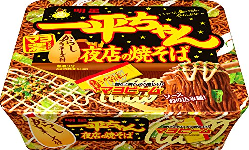 明星食品『一平ちゃん夜店の焼そば』