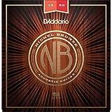 D'Addario ダダリオ アコースティックギター弦 ニッケルブロンズ Medium .013-.056 NB1356 【国内正規品】